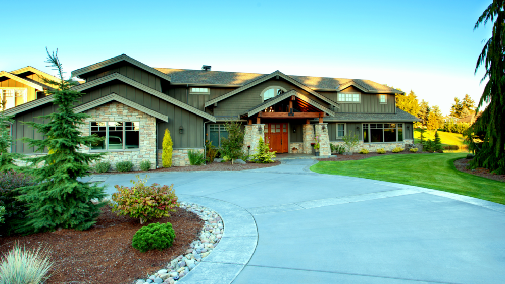 Lake Tapps Craftsman Spa   fun & luxury on the water