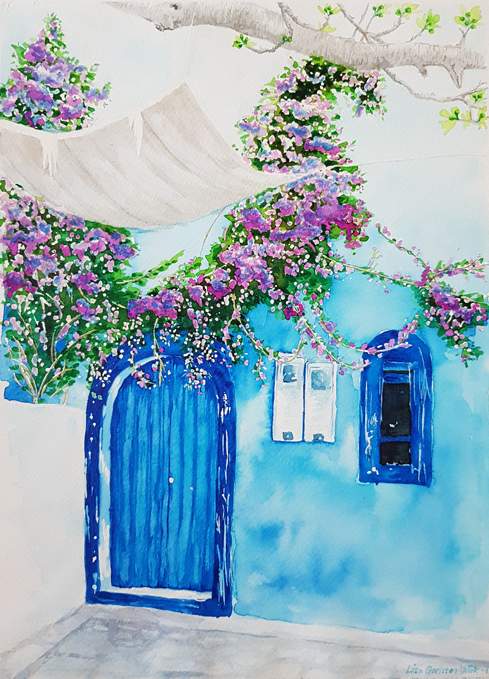 moroccan blues_akvarel_lisa grelsson wiik.png