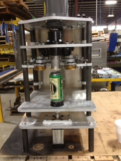 Can seamers are used by micro brewers to increase profits by added a single head can seamer into their production.
