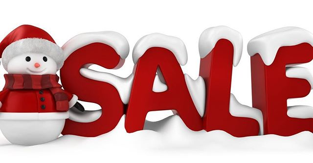 Winter sale begins, 25%-55% off. #sale