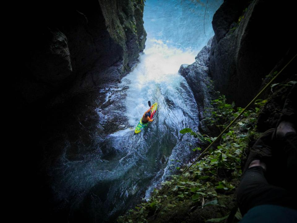 Brendan Orton - Bren Orton, 23, first got to try kayaking when he was 9, on a school trip out of the city and into the countryside. Just this year, he completed a daring descent of Big Banana Falls in Mexico. It is the highest waterfall ever navigated by a British kayaker and the second highest descent in history.