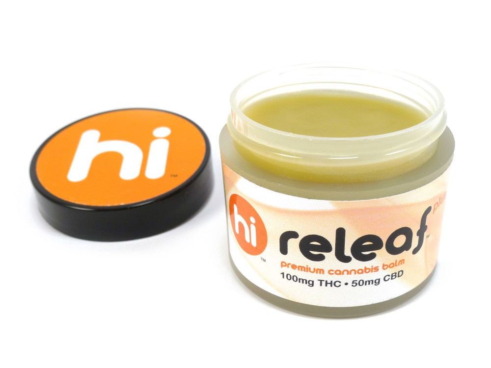 Hi Releaf topical cannabis balm.