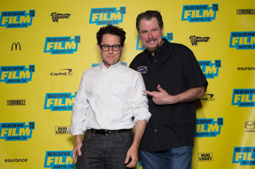 (L-R) Director J.J. Abrams and Director Don Coscarelli