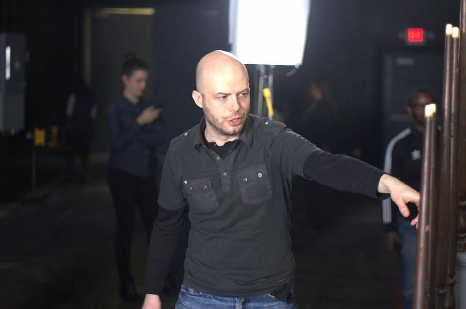 Director Ted Geoghegan