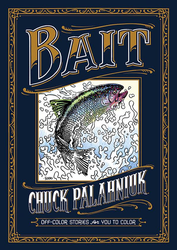 Bestselling Author Chuck Palahniuk To Publish His First Ever Coloring Book For Adults With Dark Horse Books This Fall