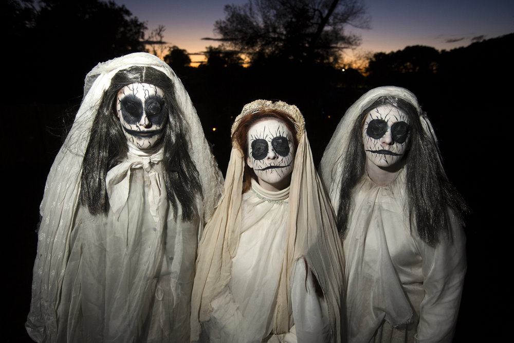 back for a spine tingling seventh year horsemans hollow which welcomed more than 27000 visitors last year is a haunted experience in the heart of - Sleepy Hollow Halloween Costumes