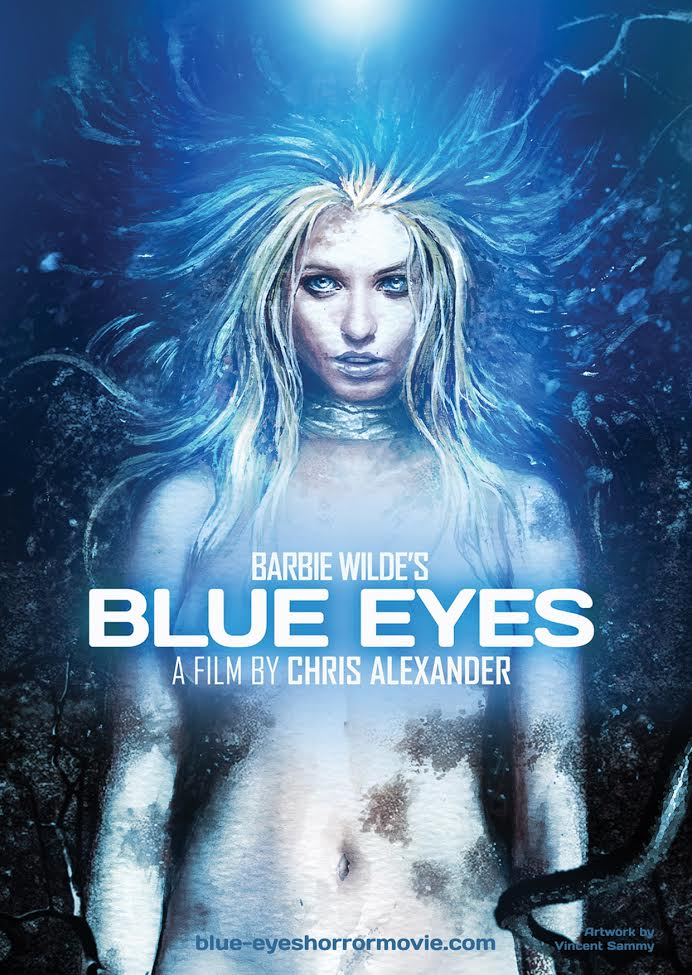 Poster artwork for  BLUE EYES  by Vincent Sammy