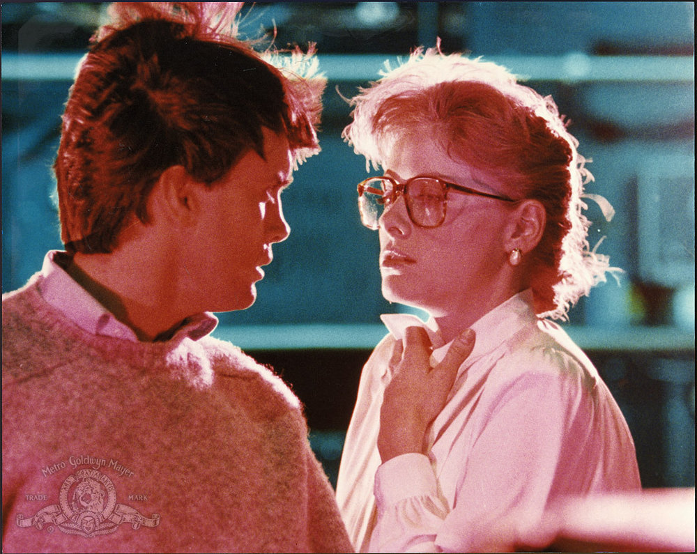 Jeffrey Combs and Barbara Crampton in FROM BEYOND