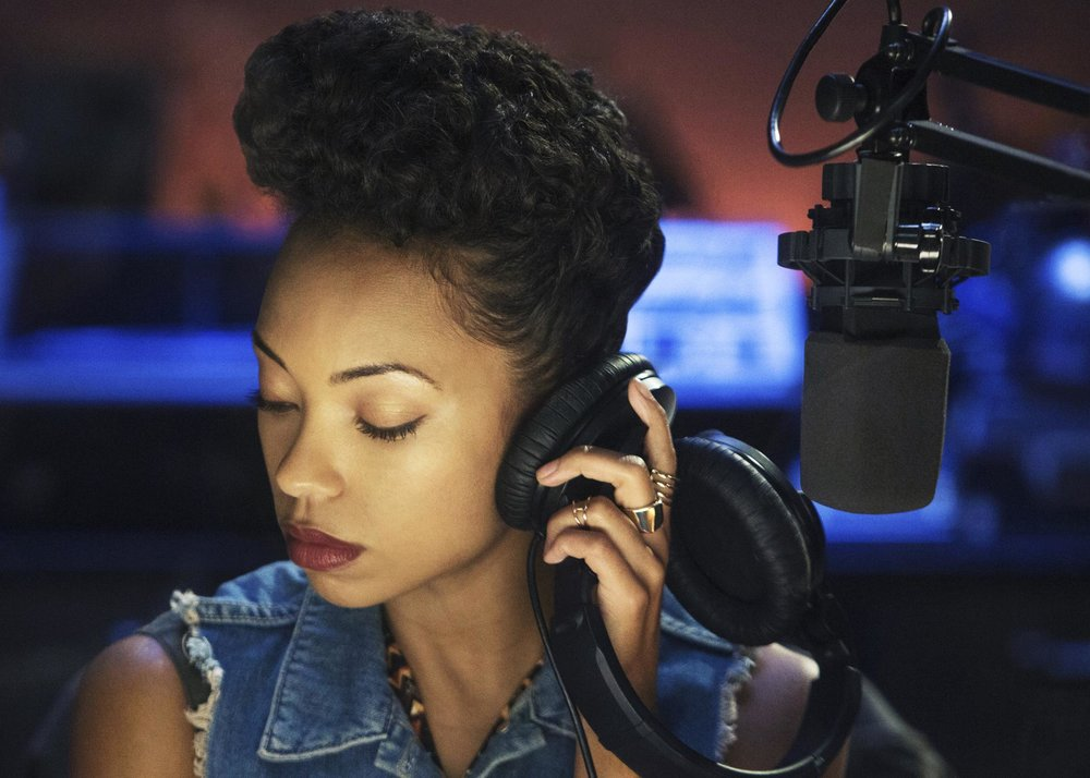 (Caption: Logan Browning as Samantha White in Netflix's Dear White People | Credit: Courtesy of Netflix/Adam Rose)