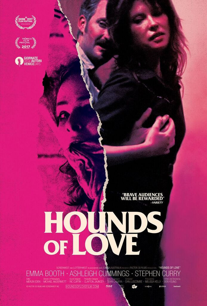 New Poster Debut For The Intense Genre Film HOUNDS OF LOVE