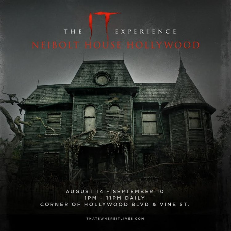 The IT Experience Neibolt House Hollywood Coming to LA ...