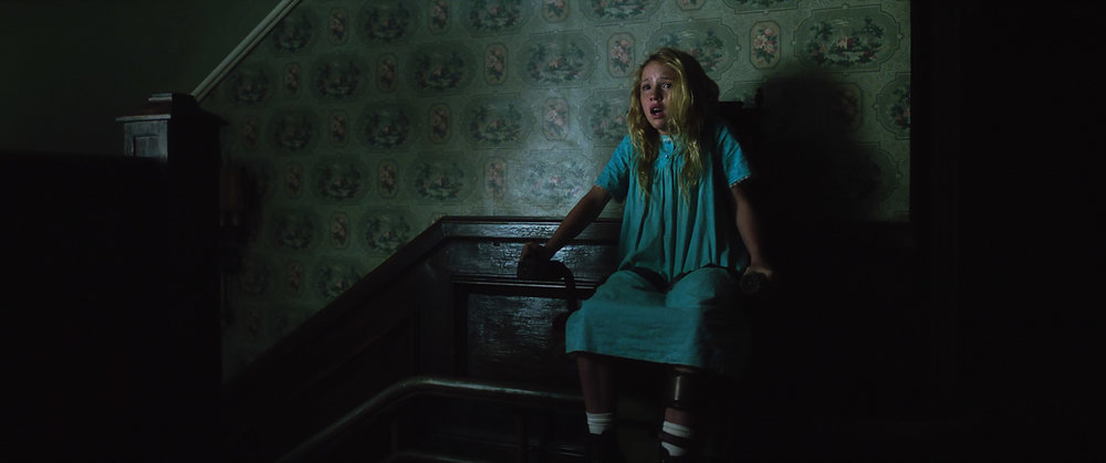 Talitha Bateman as Janice in New Line Cinema's supernatural thriller ANNABELLE: CREATION, a Warner Bros. Pictures release (Photo Credit: Courtesy of Warner Bros. Pictures)