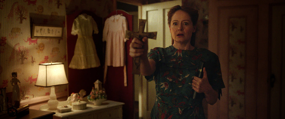 Miranda Otto as Esther Mullins in New Line Cinema's supernatural thriller, ANNABELLE: CREATION, a Warner Bros. Pictures release (Photo Credit: Courtesy of Warner Bros. Pictures)