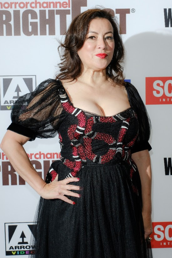 Jennifer Tilly at Frightfest in London for Global Premiere of Cult of Chucky