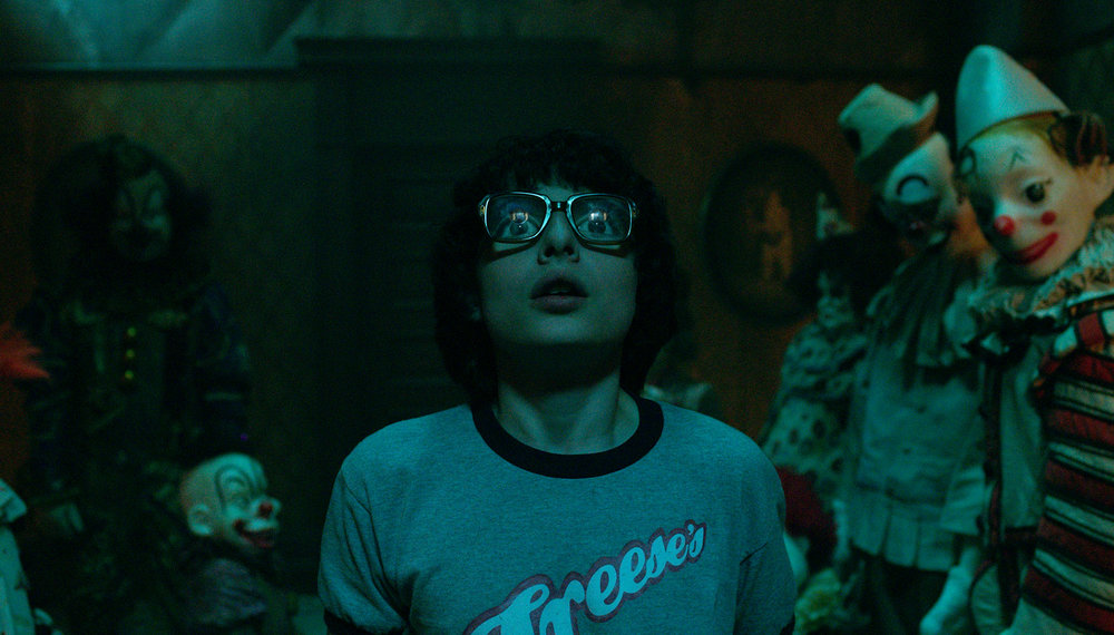 "Finn Wolfhard as Richie Tozier in New Linle Cinema's horror thriller ""IT,"" a Warner Bros. Pictures release (Photo Credit: Courtesy of Warner Bros. Pictures)"