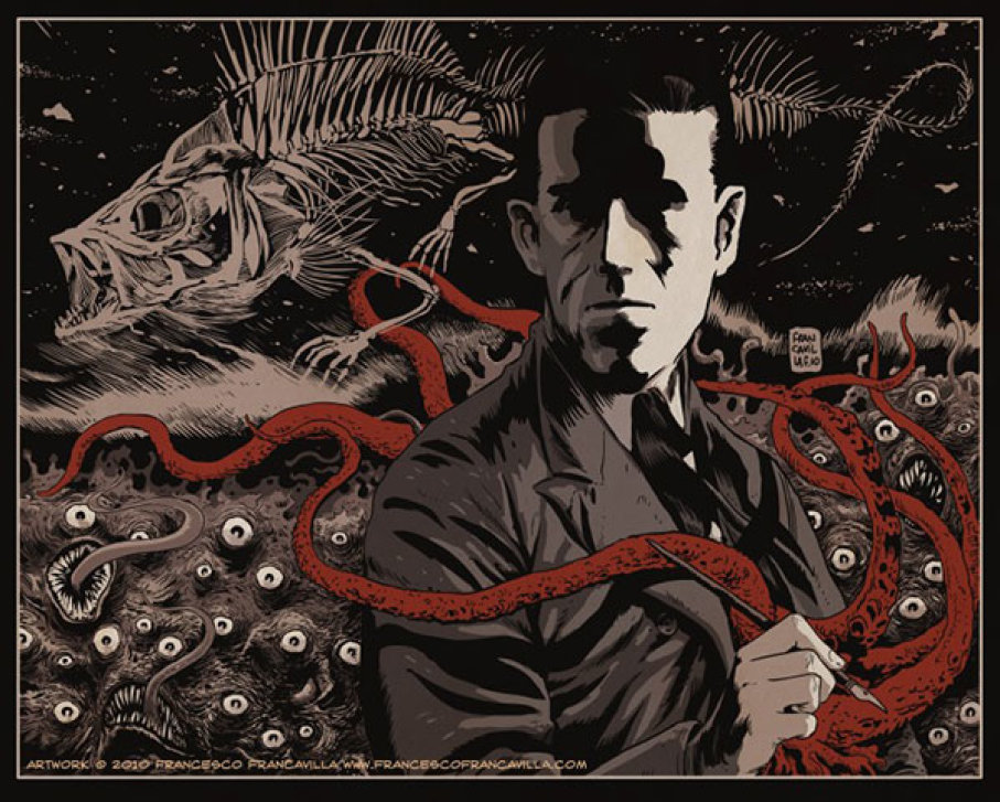 H.P. Lovecraft (Art by Francesco Francavilla)