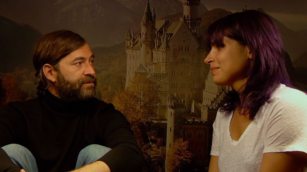 (L-R): Mark Duplass and Desiree Akhavan in CREEP 2 (Photo by Patrick Brice)
