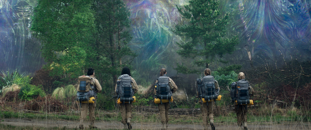 (L-R) Gina Rodriguez, Tessa Thompson, Tuva Novotny, Natalie Portman and Jennifer Jason Leigh in ANNIHILATION from Paramount Pictures and Skydance