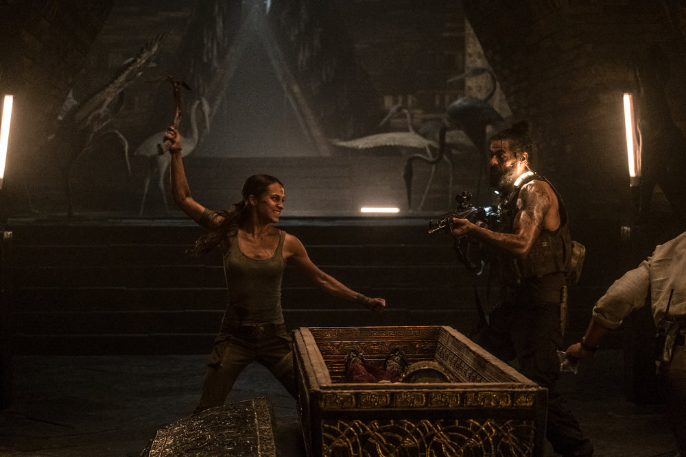 """Alicia Vikander as Lara Croft in Warner Bros. Pictures' and Metro-Goldwyn-Mayer Pictures' action adventure """"TOMB RAIDER"""", a Warner Bros. Pictures Release 