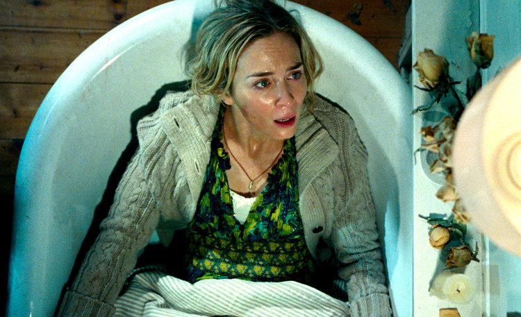 Emily Blunt plays Evelyn Abbott in A QUIET PLACE, from Paramount Pictures | Photo Credit: Paramount Pictures