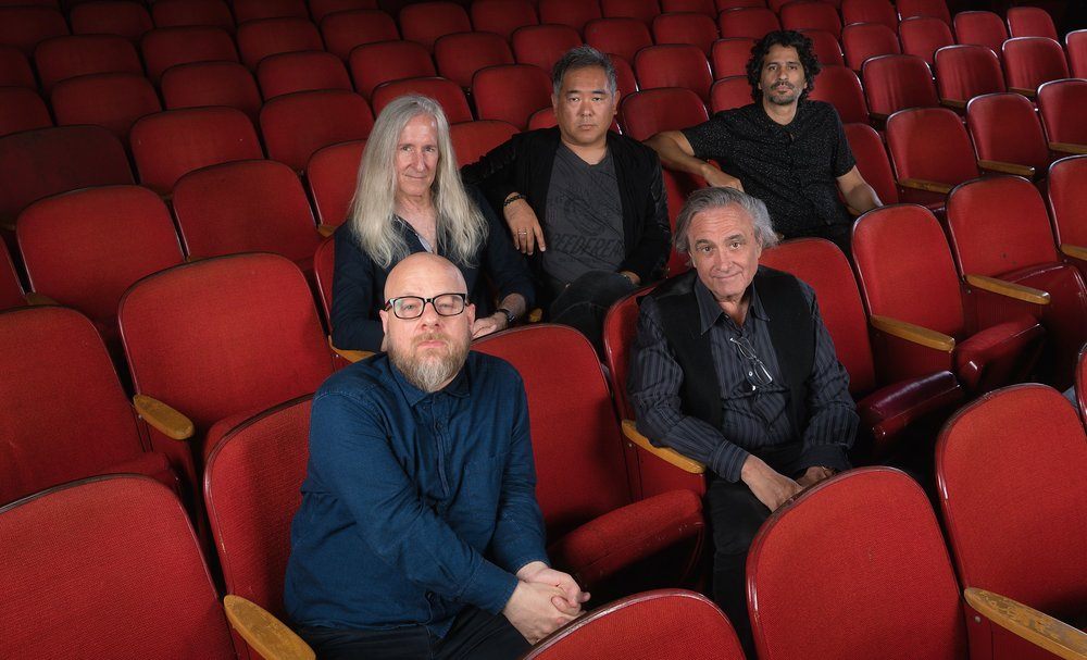 (Front Row): David Slade, Joe Dante (Second Row): Mick Garris, Ryûhei Kitamura, Alejandro Brugués
