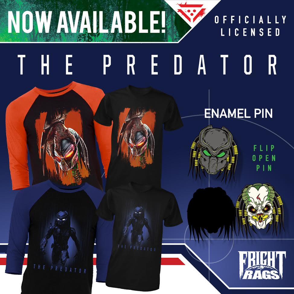 The Hunt Has Evolved In The Predator Merchandise From Fright Rags