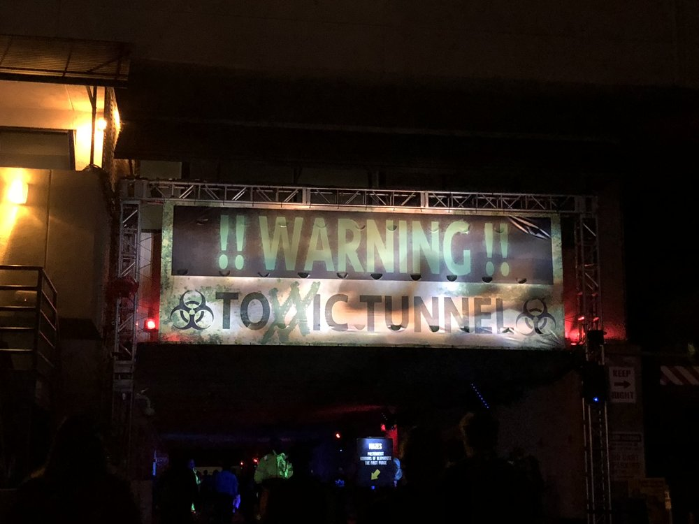 Toxxic Tunnel Scarezone