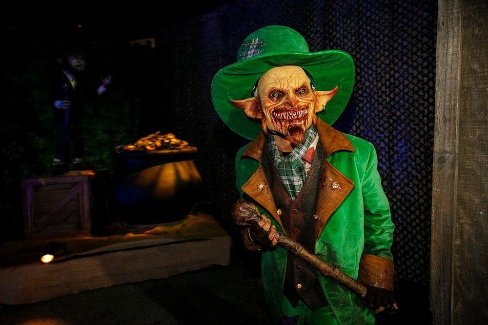 Holidayz in Hell Scarezone | Image Courtesy of Universal Studios