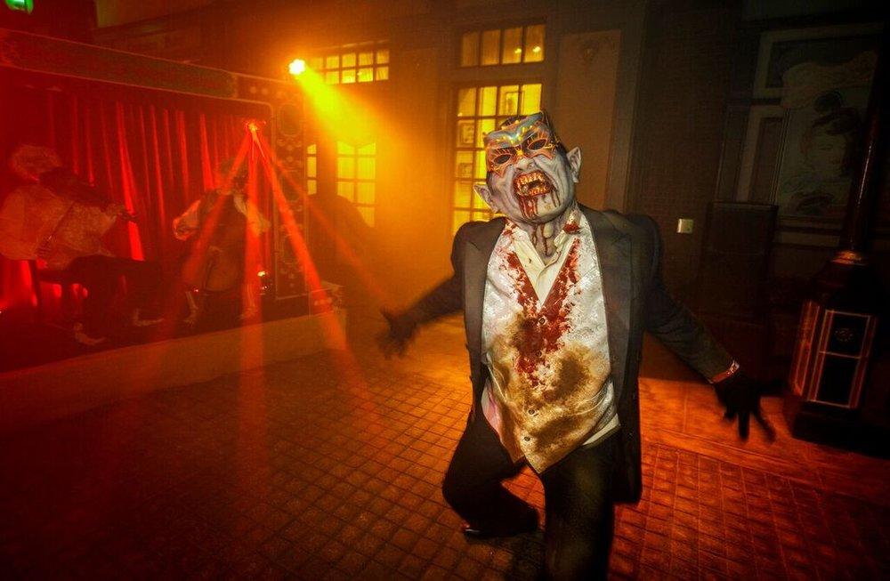 Monster Masquerade Scarezone | Image Courtesy of Universal Studios