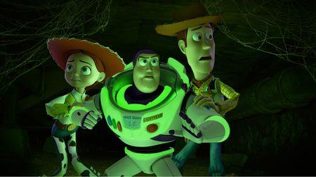 Jessie, Buzz Lightyear, Woody - Toy Story of Terror