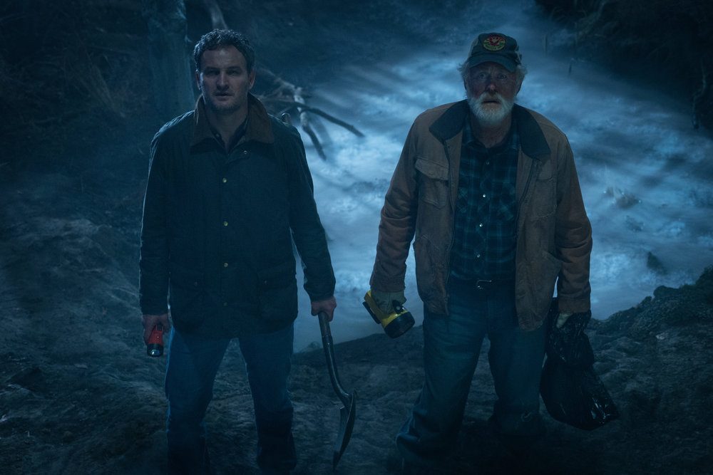 Jason Clarke as Louis and John Lithgow as Jud in PET SEMATARY | Photo Credit: Kerry Hayes