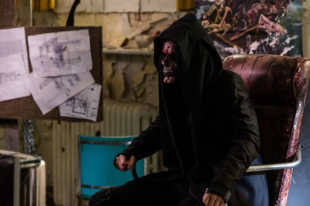 Chad Rook as Red Skull in EXTREMITY