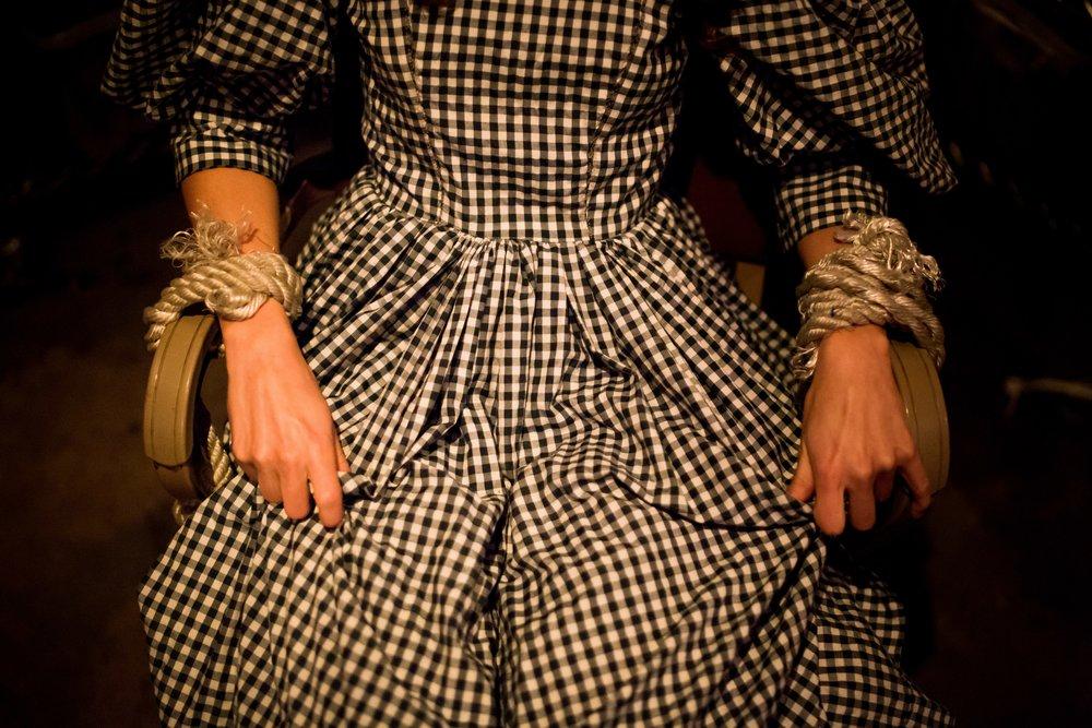 Colleen Pulawski as Dorothy Gale | Photo Courtesy of Speakeasy Society