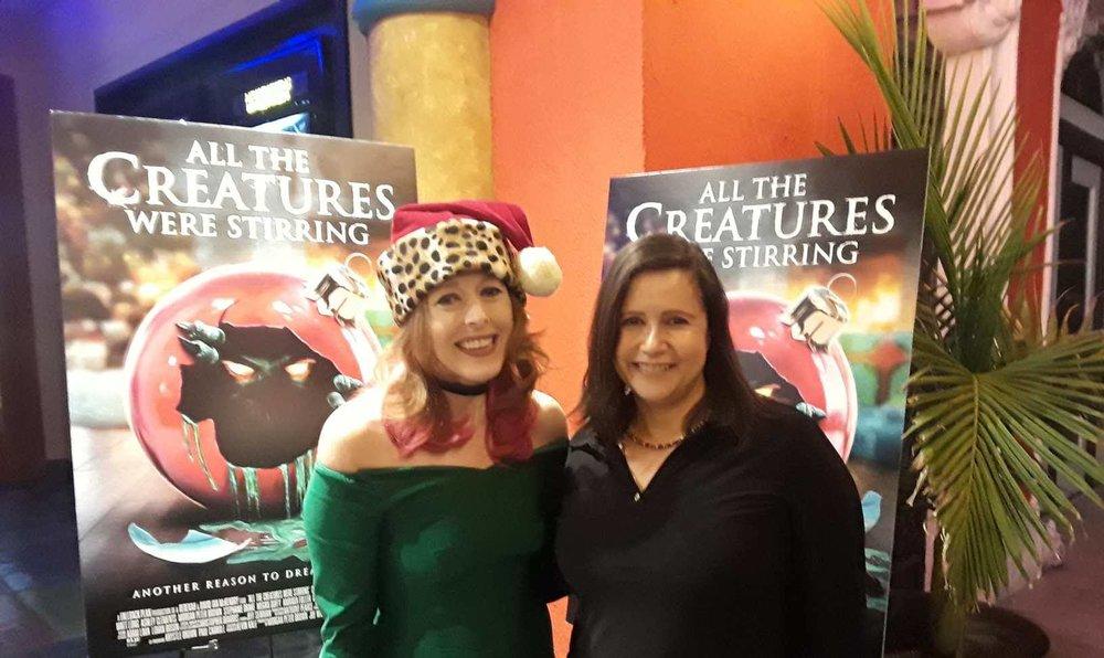 (L-R): Director Rebekah McKendry and Dolores Quintana