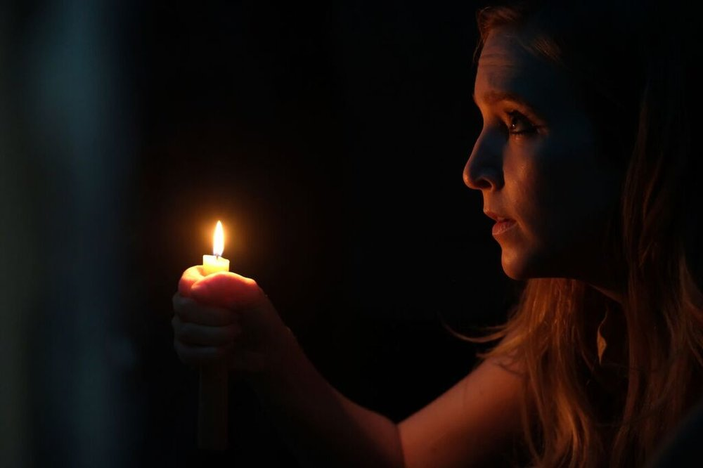 Sabrina Kern as Mary in the horror film ST. AGATHA an Uncork'd Entertainment release | Photo Courtesy of Uncork'd Entertainment
