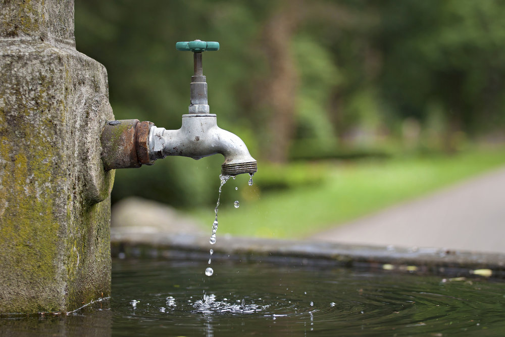 Much of the drinking water supply comes from home cisterns. How safe is this water for drinking?