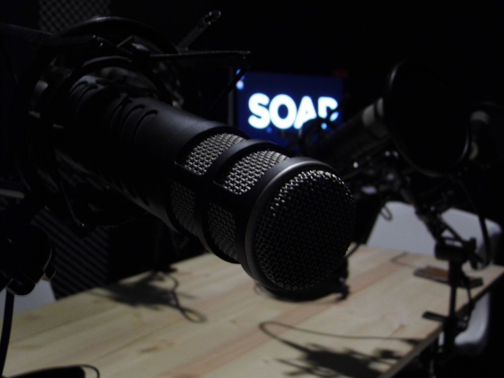 Podcast studio Hire, Podcast hire, hire recording studio, podcast studio london, soap, on-soap