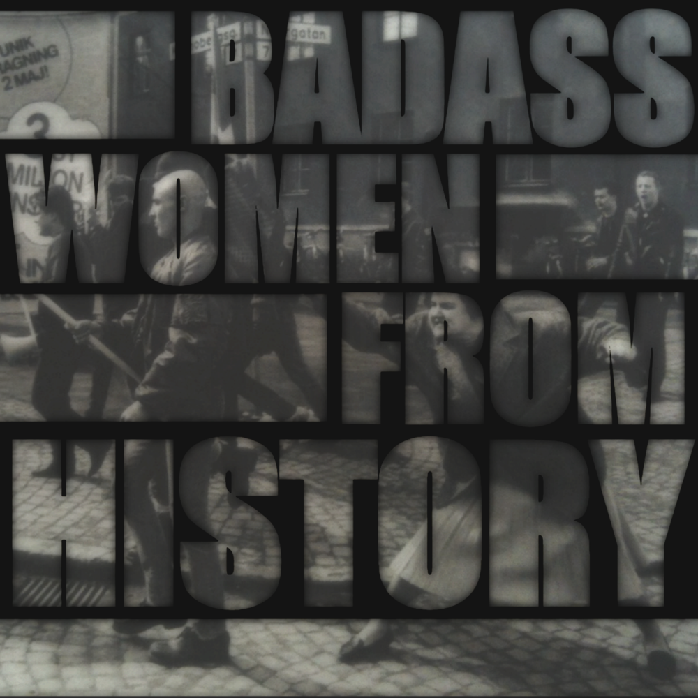 BADASS WOMEN FROM HISTORY, WOMENS HISTORY PODCAST, SOAP, ON-SOAP