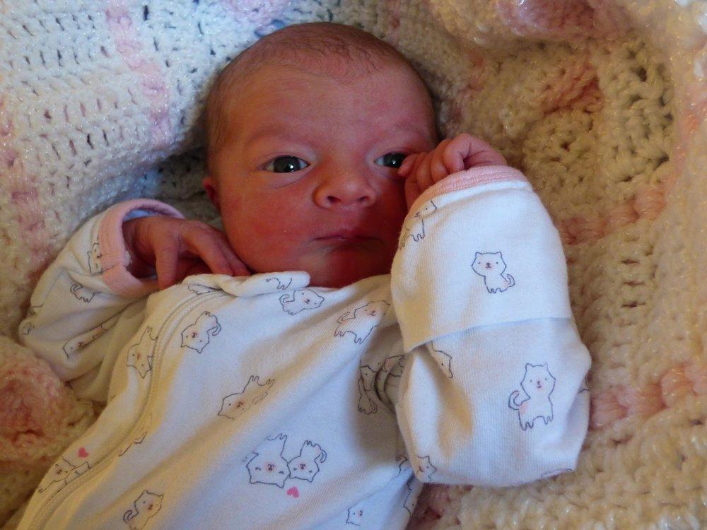 Hayley Margaret Matheson, 6lbs 14oz