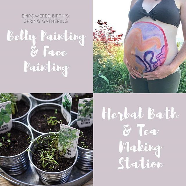 The Spring Gathering is just one week away!! We will also have Belly Painting, Face Painting and an herbal making station with herbal bath preparations and herbal teas. Come enjoy this fun family day with us and bring your friends and family along!!