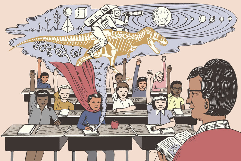 "Image from NPR's   ""How Teachers Can Help 'Quiet Kids' Tap Their Superpowers"""