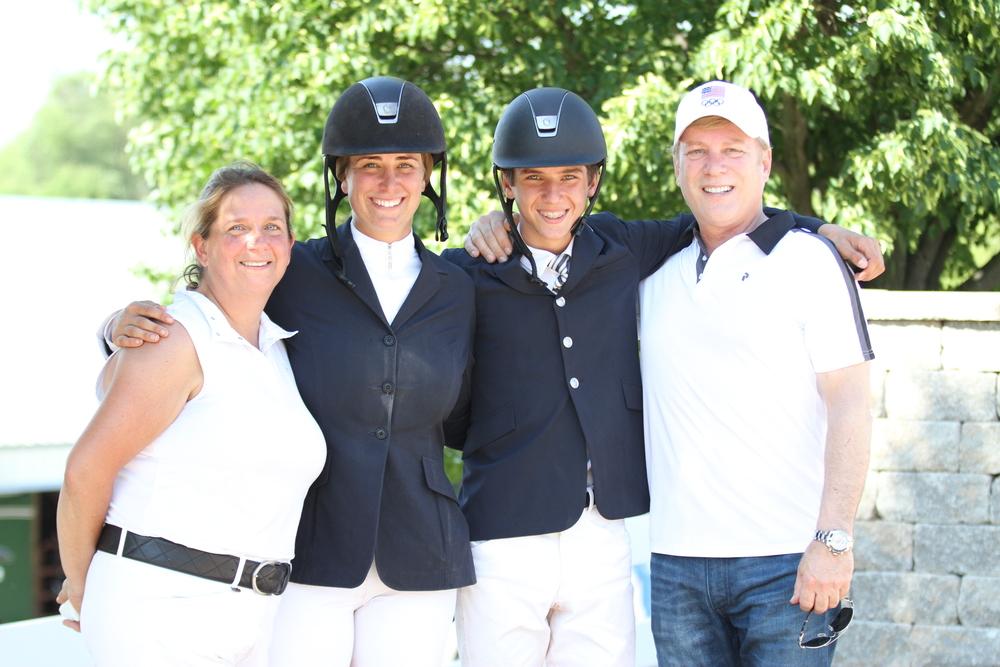Brenda Perkovich, Lisa Goldman, Kyloe Perkovich and Rick Perkovich