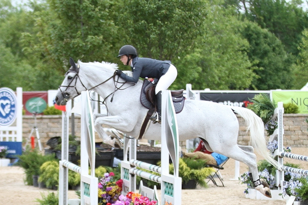 $5,000 NAL Childrens Jumper Classic, Sponsored by CWD Sellier  Kesley Taylor and her own Zelda won the top prize and earned the chamionship of the  Childrens Jumper division