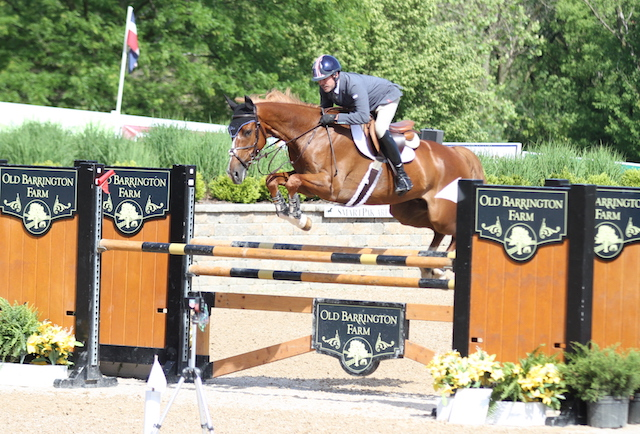 Fourth place: Doug Boyd and Calvigo, owned by Sapphire Riding Academy