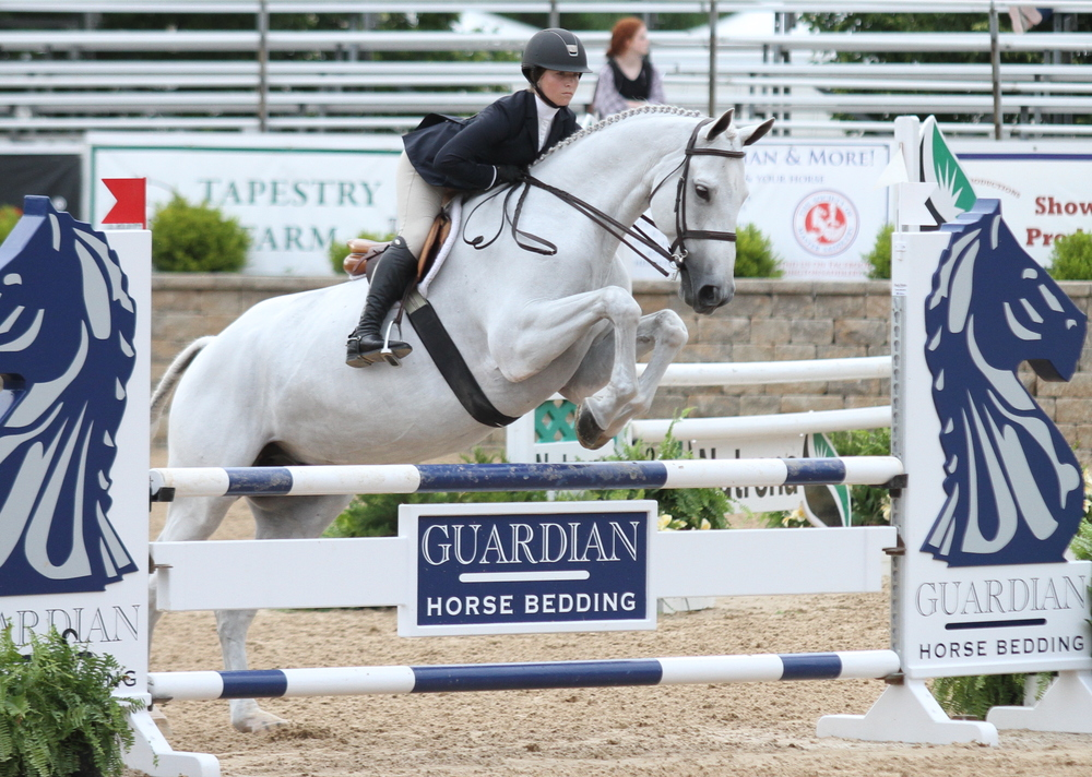 Alexandra Pielet won the USEF Talent Search aboard Ice, owned by Co-Pielet LLC
