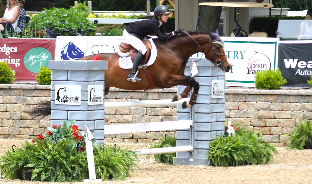 $1,500 M & S Childrens Jumper MacKenzie Snider and Amigo, owned by Robin Viilter