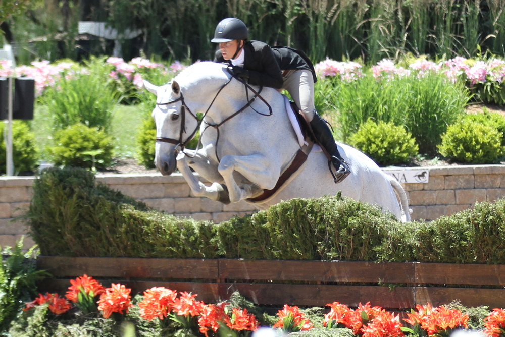 Sarah Young and White Lightening were fourth.