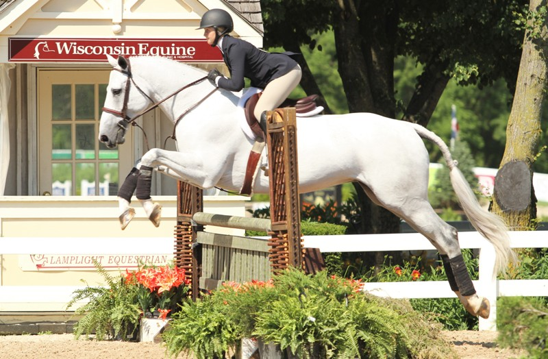ASPCA Maclay  Amanda Pennington won the ASPCA Maclay with her horse Cumano Boy Z.