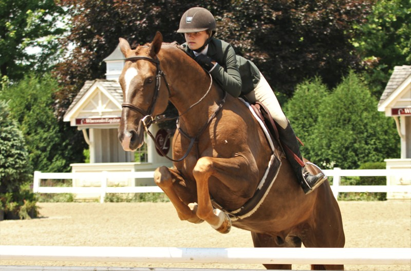 "For Adventure and Giavanna Rinaldi      Small/Large Junior Hunter 16-17 preview  Giavanni Rinaldi looks to lead the division heading into tomorrow's competition with two horses, Bugsy Malone and For Adventure. Bugsy Malone is owned by Rinaldi's trainer, Alex Jayne. For Adventure is Alex McNally's entry.  ""For tomorrow, I just want to do the same thing as I did today, and just go around smoothly and nicely,"" Rinaldi said. ""I would like to get good placings again tomorrow and hopefully come out with champion and reserve."""