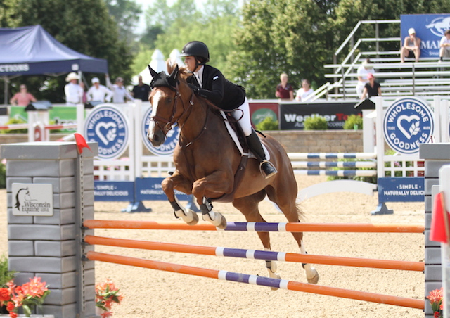 $7,500 NAL Adult Jumper Classic presented by Guardian Shavings  Get Shorty, owned and ridden by Katie Smith